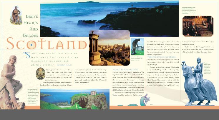 Ireland and Scotland